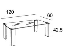 Medidas mesa de centro irina