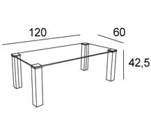 Medidas mesa de centro londres