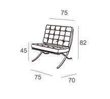 Medidas sillón boss