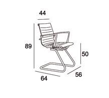 Medidas sillón confidente Clhoe V