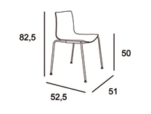 Medidas silla aire