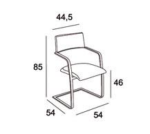 Medidas silla comedor tempo