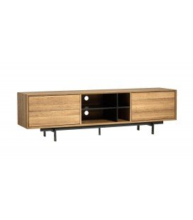 Mueble TV Beatriz 180 Roble/Negro