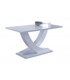 Mesa Comedor Extensible Matte Color Blanco