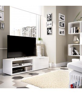 Mueble TV Soho Blanco Brillo