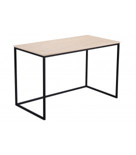 Mesa Estudio Mia Roble Nordish/Negro 120 x 60