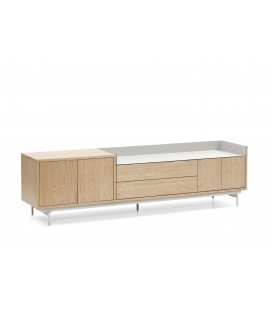 Mueble TV Valley Roble/Gris