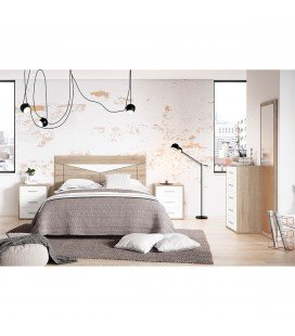 Dormitorio Basic 8 Cambria-Blanco
