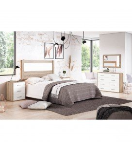 Dormitorio Basic 9 Cambria-Blanco