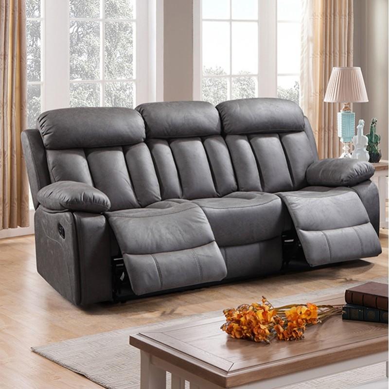 Precio tapizar sofa tres plazas amazing elegant helen sof de plazas maxi tapizado aloe borde en - Precio tapizar sofa ...